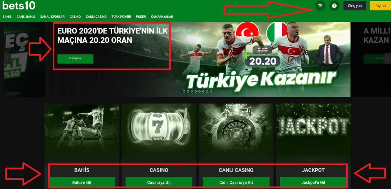 Bets10 mobil indir Türkiye